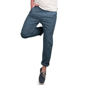 Ανδρικό παντελόνι chinos Double CP-215 Μπλε
