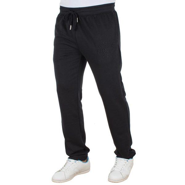 Παντελόνι Φόρμα DOUBLE Jogger Pants MPAN-17 Μαύρο