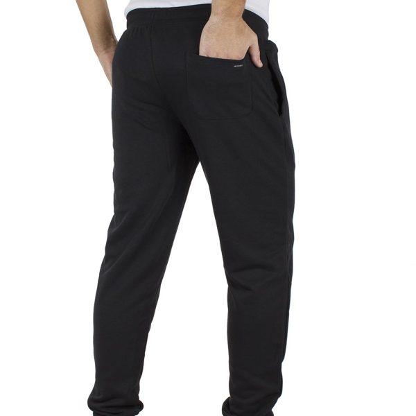 Παντελόνι Φόρμα με Λάστιχα DOUBLE Jogger Pants MPAN-18 Μαύρο