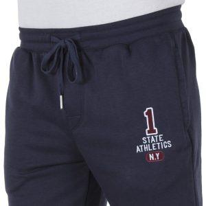 Παντελόνι Φόρμα με Λάστιχα DOUBLE Jogger Pants MPAN-18 Indigo