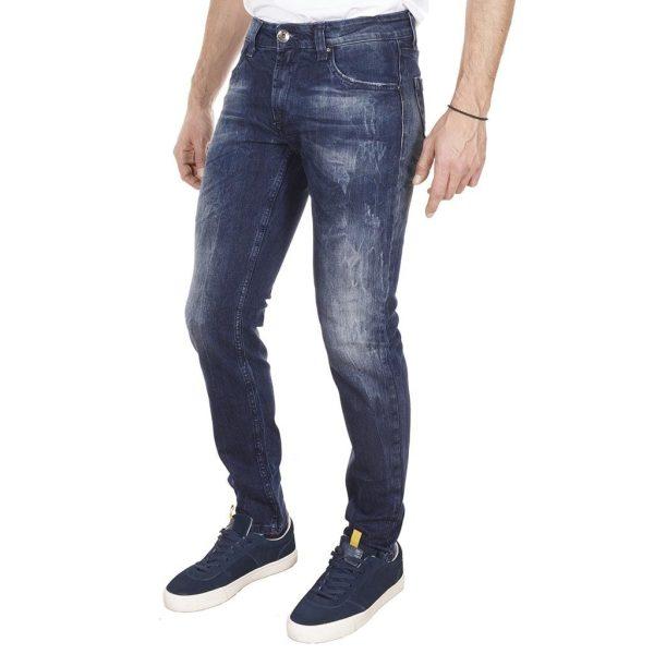 Τζιν Παντελόνι Damaged Jeans D76 Blue
