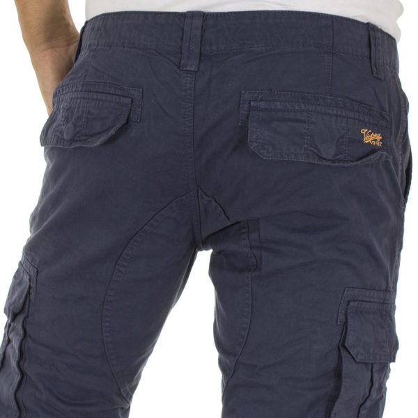 Παντελόνι Cargo VICTORY B52 CARGOPANTS Steel Grey