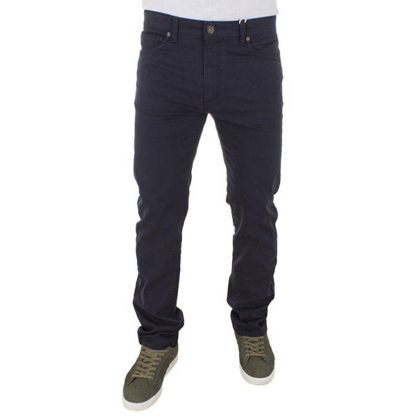 Πεντάτσεπο Παντελόνι 5-Pocket Pants DOUBLE FP-219 Navy