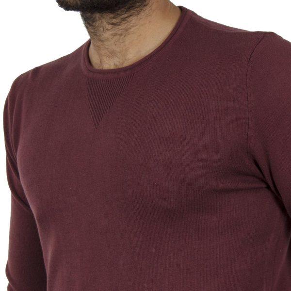 Πουλόβερ Πλεκτή Μπλούζα BLEND 20706286 Μπορντό