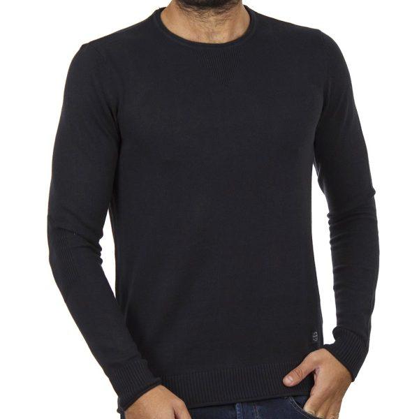 Πουλόβερ Πλεκτή Μπλούζα BLEND 20706286 Navy