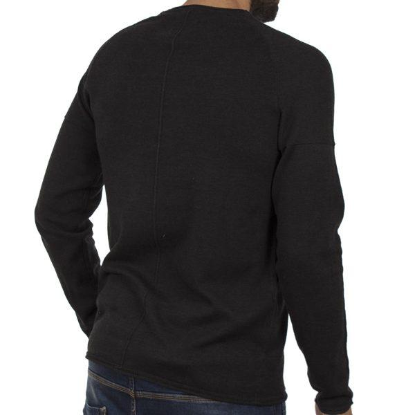Πουλόβερ Πλεκτή Μπλούζα BLEND 20706288 Μαύρο