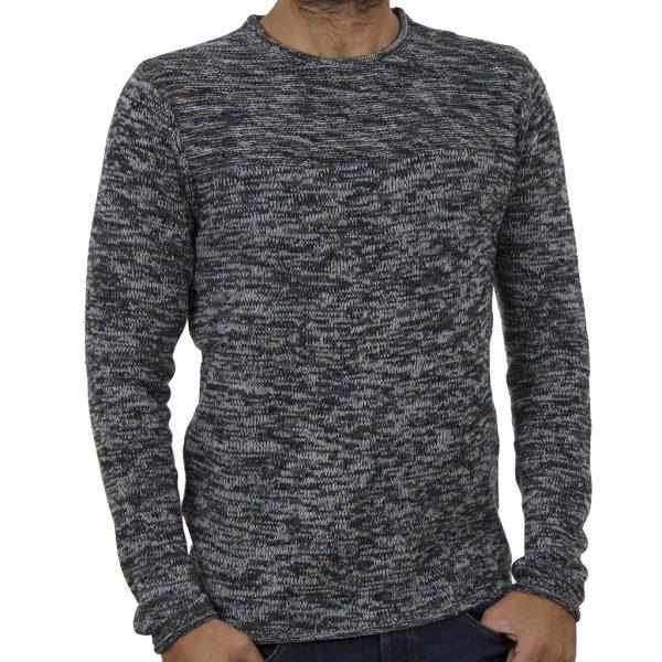 Πουλόβερ Πλεκτή Μπλούζα BLEND 20706293 Γκρι