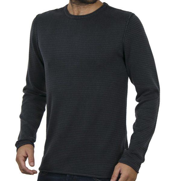 Πουλόβερ Πλεκτή Μπλούζα BLEND 20706305 Navy