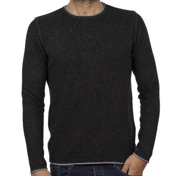 Πουλόβερ Πλεκτή Μπλούζα BLEND 20706452 Μαύρο