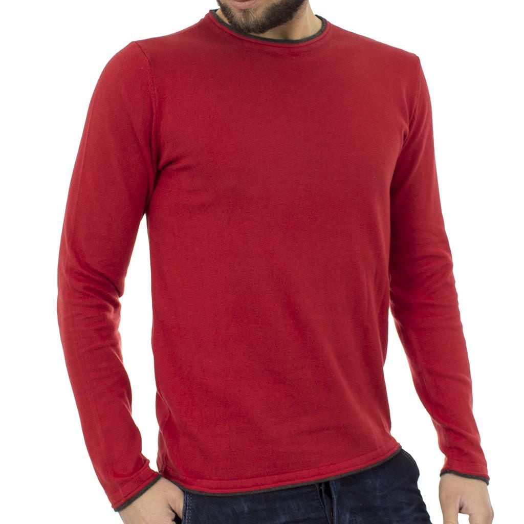 f741fe015543 Πλεκτή Μπλούζα BLEND Poulover 20705105 Κόκκινο
