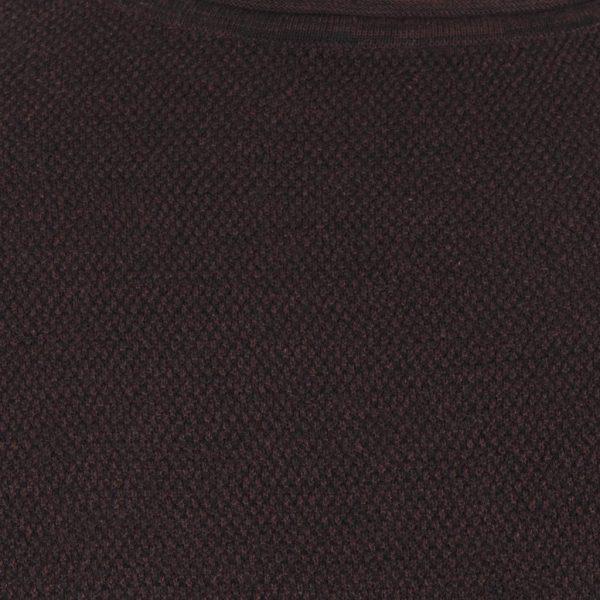 Πουλόβερ Πλεκτή Μπλούζα FUNKY BUDDHA FBM016-09218 Maroon