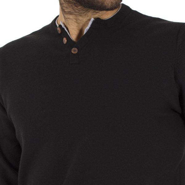 Πλεκτή Μπλούζα Garage55 GAM206-09218 Μαύρο