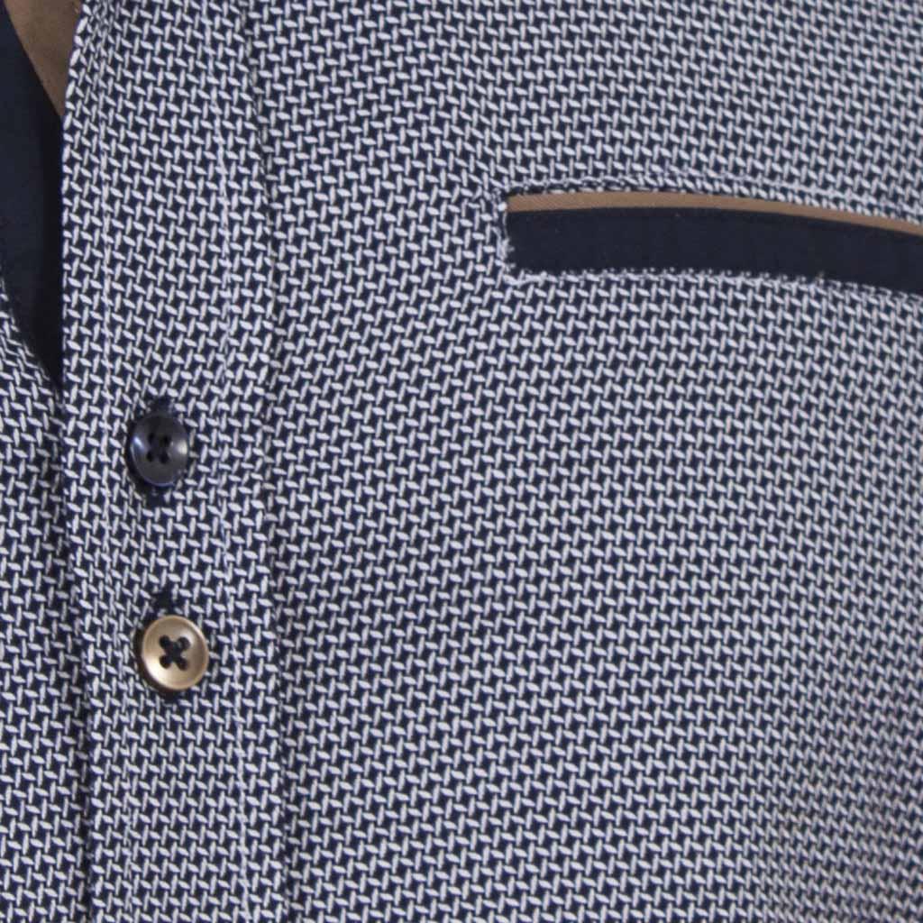 56c3fd90d5f9 Μακρυμάνικο Πουκάμισο Slim Fit CND Shirts 3600-2 σκούρο Μπλε ...