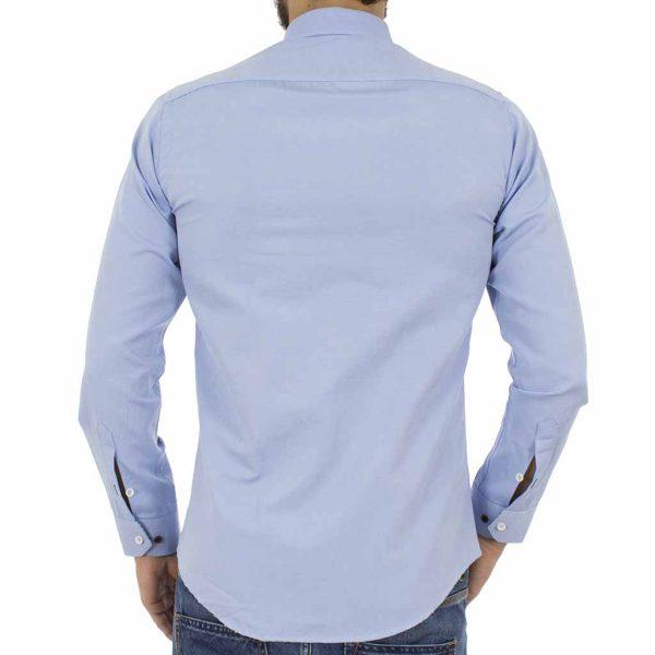 Μακρυμάνικο Πουκάμισο Slim Fit ENDESON CLUB 6035-100 Sky Blue