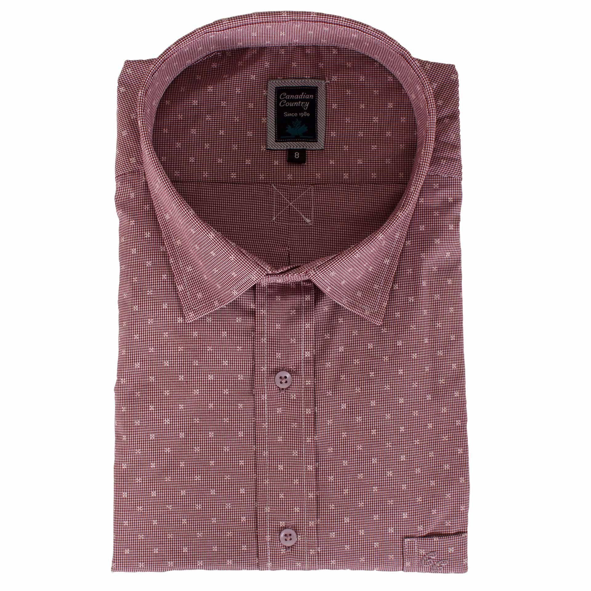 02886ed52f2c Ανδρικό κλασικό πουκάμισο Canadian Shirts 1918 ...