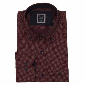 Πουκάμισο regular fit μακρυμάνικο Canadian Shirts 1300-2