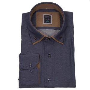 Πουκάμισο regular fit μακρυμάνικο Canadian Shirts 1400-2
