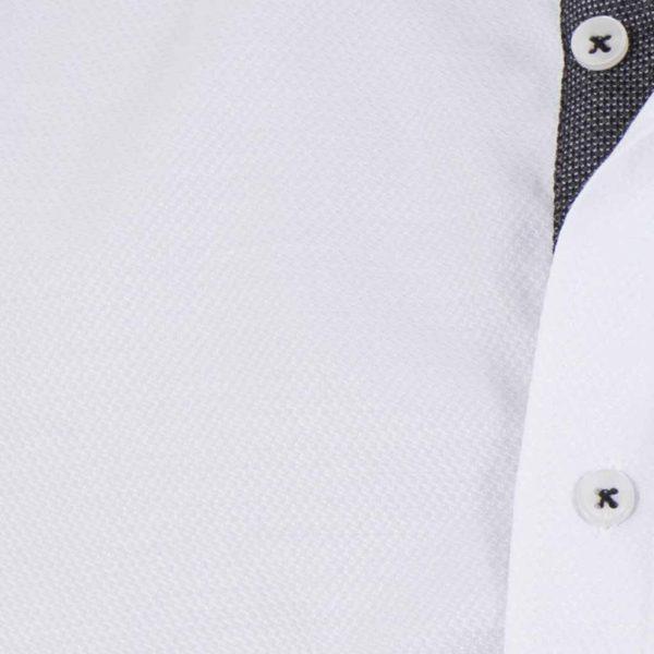 Μάο Μακρυμάνικο Πουκάμισο Slim Fit CND Shirts 3550 Λευκό