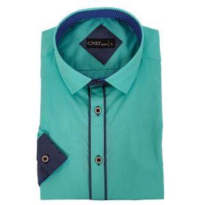 Πουκάμισο slim fit Κοντομάνικο CND Shirts 710-3