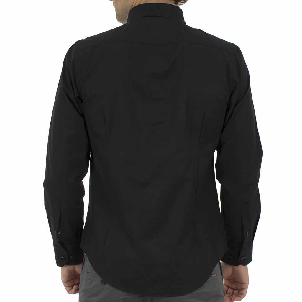 Μακρυμάνικο Πουκάμισο CND Shirts 1650-9 Μαύρο  2425c0c0b65