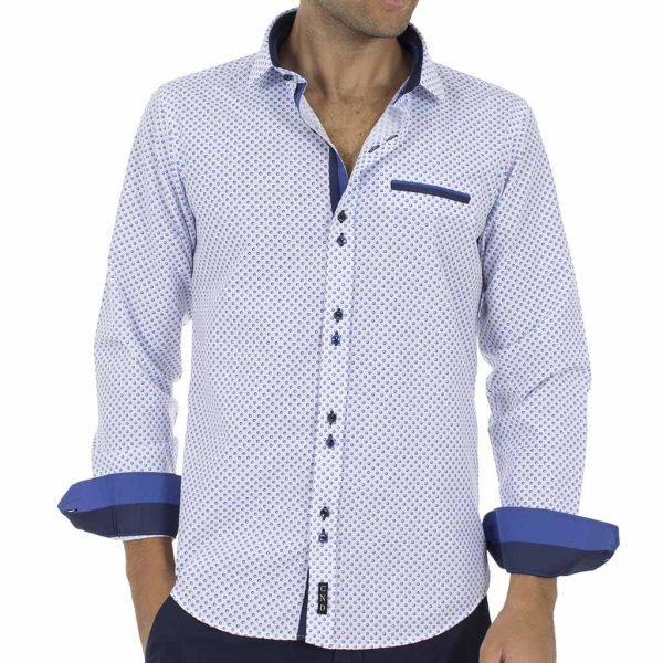 Μακρυμάνικο Πουκάμισο CND Shirts 2600-22 Sky Blue