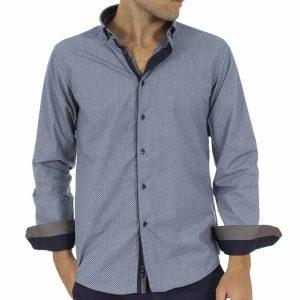 Μακρυμάνικο Πουκάμισο CND Shirts 2750-26 Stone Blue 9ca7198fc8f