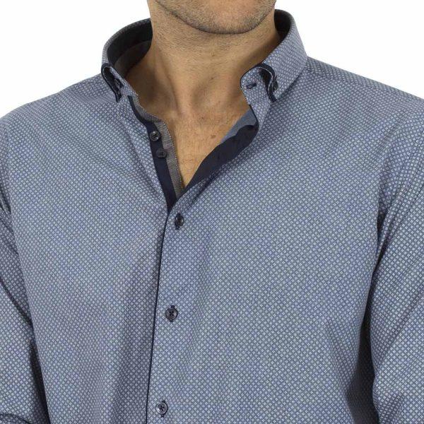 Μακρυμάνικο Πουκάμισο CND Shirts 2750-26 Stone Blue