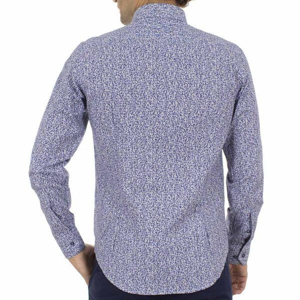 Μακρυμάνικο Πουκάμισο CND Shirts 2850-3 Μπλε
