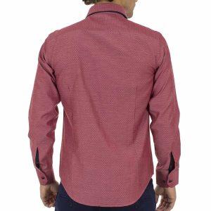 Μακρυμάνικο Πουκάμισο CND Shirts 700-6 σκούρο Ροζ