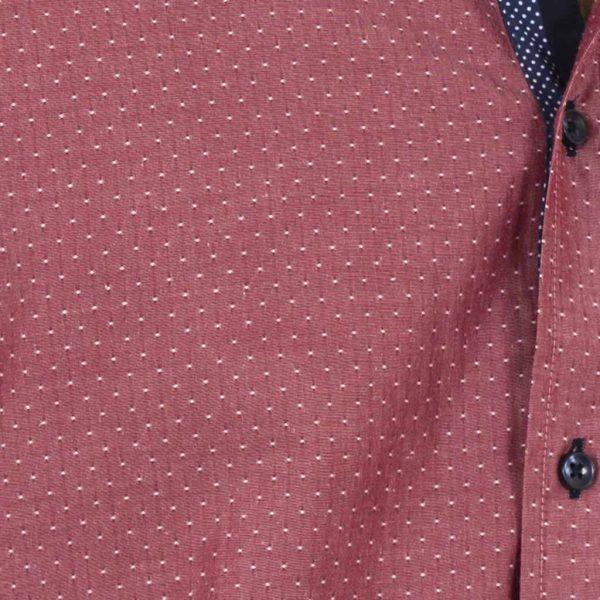 f2d865b836bc Μακρυμάνικο Πουκάμισο CND Shirts 700-6 σκούρο Ροζ