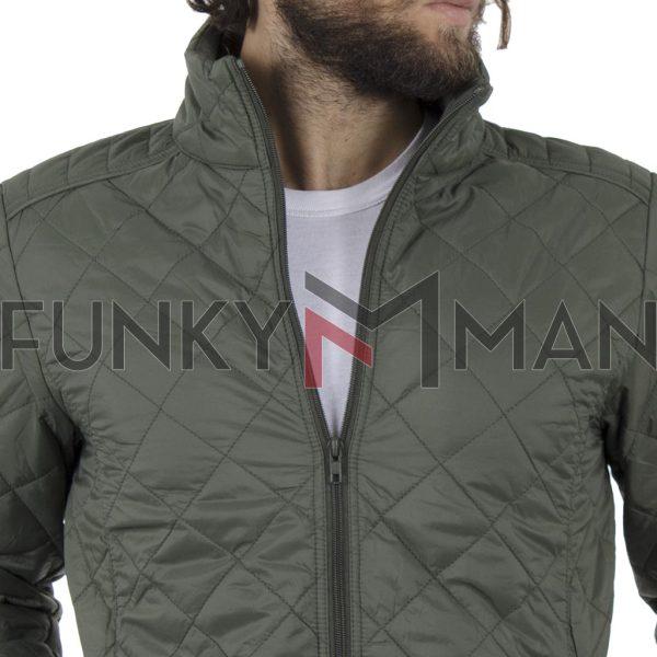Φουσκωτό Μπουφάν Puffer Jacket BLEND 20707518 Olive