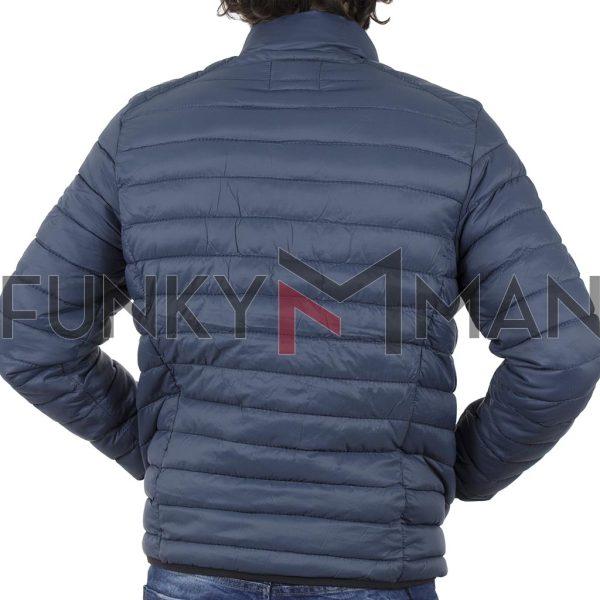 Φουσκωτό Μπουφάν Puffer Jacket BLEND 20707520 ανοιχτό Μπλε