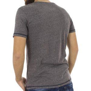 Κοντομάνικη Μπλούζα T-Shirt BENETO MARETTI SS17TS40-110 Γκρι