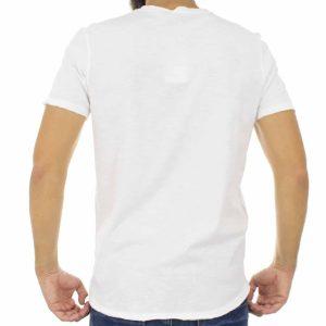 Κοντομάνικη Μπλούζα T-shirt Best Choice S18088 CACTUS Λευκό
