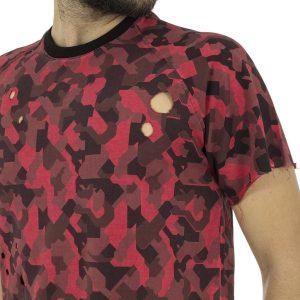 Κοντομάνικη Μπλούζα T-shirt Best Choice RIMMER W18096 παραλλαγή Κόκκινο