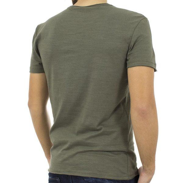 Κοντομάνικη Μπλούζα T-shirt BLEND 20704955 Χακί