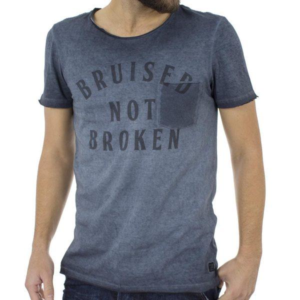 Κοντομάνικη Μπλούζα T-shirt BLEND 20704962 Μπλε