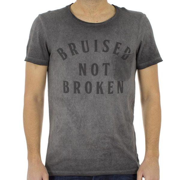 Κοντομάνικη Μπλούζα T-shirt BLEND 20704962 Γκρι
