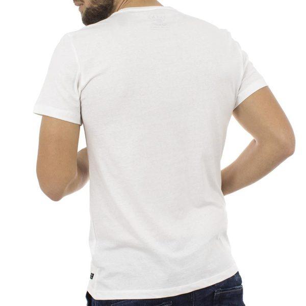 Κοντομάνικη Μπλούζα T-shirt BLEND 20705136 Λευκό