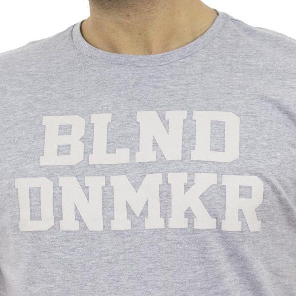 Κοντομάνικη Μπλούζα T-shirt BLEND 20705649 ανοιχτό Γκρι