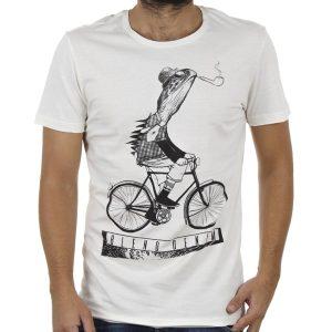 Κοντομάνικη Μπλούζα T-Shirt Tee BLEND 20706146 Λευκό