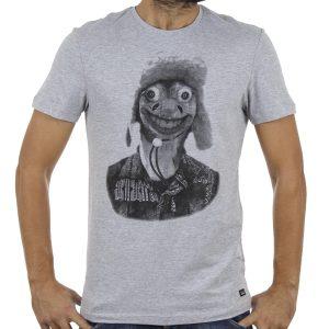 Κοντομάνικη Μπλούζα T-Shirt Tee BLEND 20707012 ανοιχτό Γκρι
