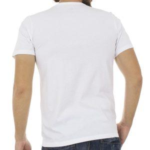 Κοντομάνικη Μπλούζα T-Shirt Back2jeans B1 Λευκό