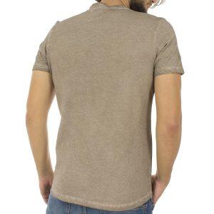 Κοντομάνικη Μπλούζα T-shirt Best Choice SKULL S18083 Εκρού