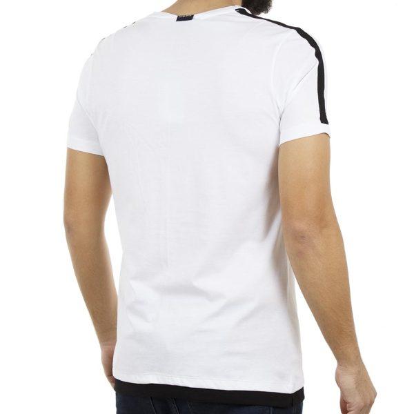 Κοντομάνικη Μπλούζα T-Shirt COVER KRONOS Y207 Λευκό