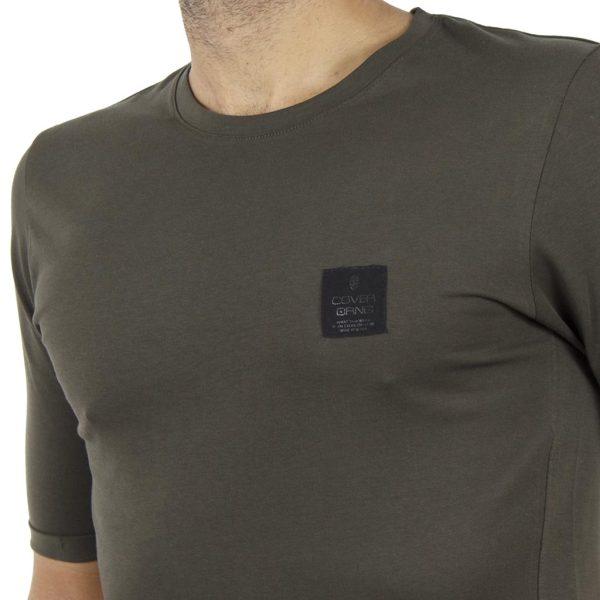 Κοντομάνικη Μπλούζα T-Shirt COVER LUPO Y204 Χακί