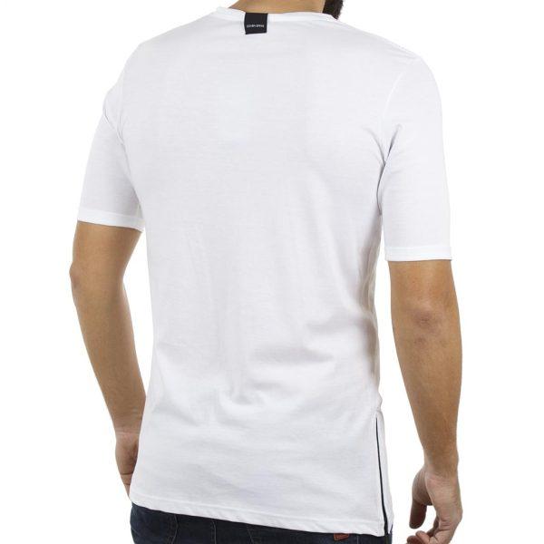 Κοντομάνικη Μπλούζα T-Shirt COVER LUPO Y204 Λευκό
