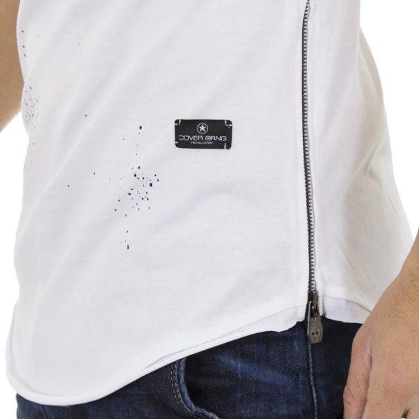 Κοντομάνικη Μπλούζα T-shirt COVER Jeans NOOKY 0146 Λευκό