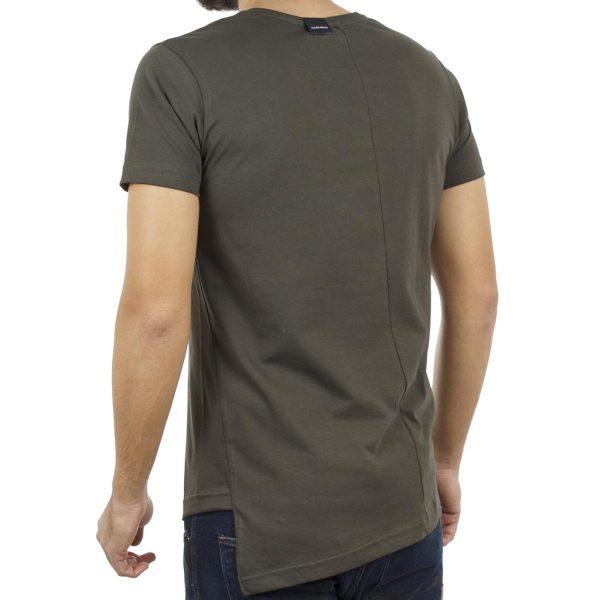 Κοντομάνικη Μπλούζα T-Shirt COVER PRINCE Y212 Χακί