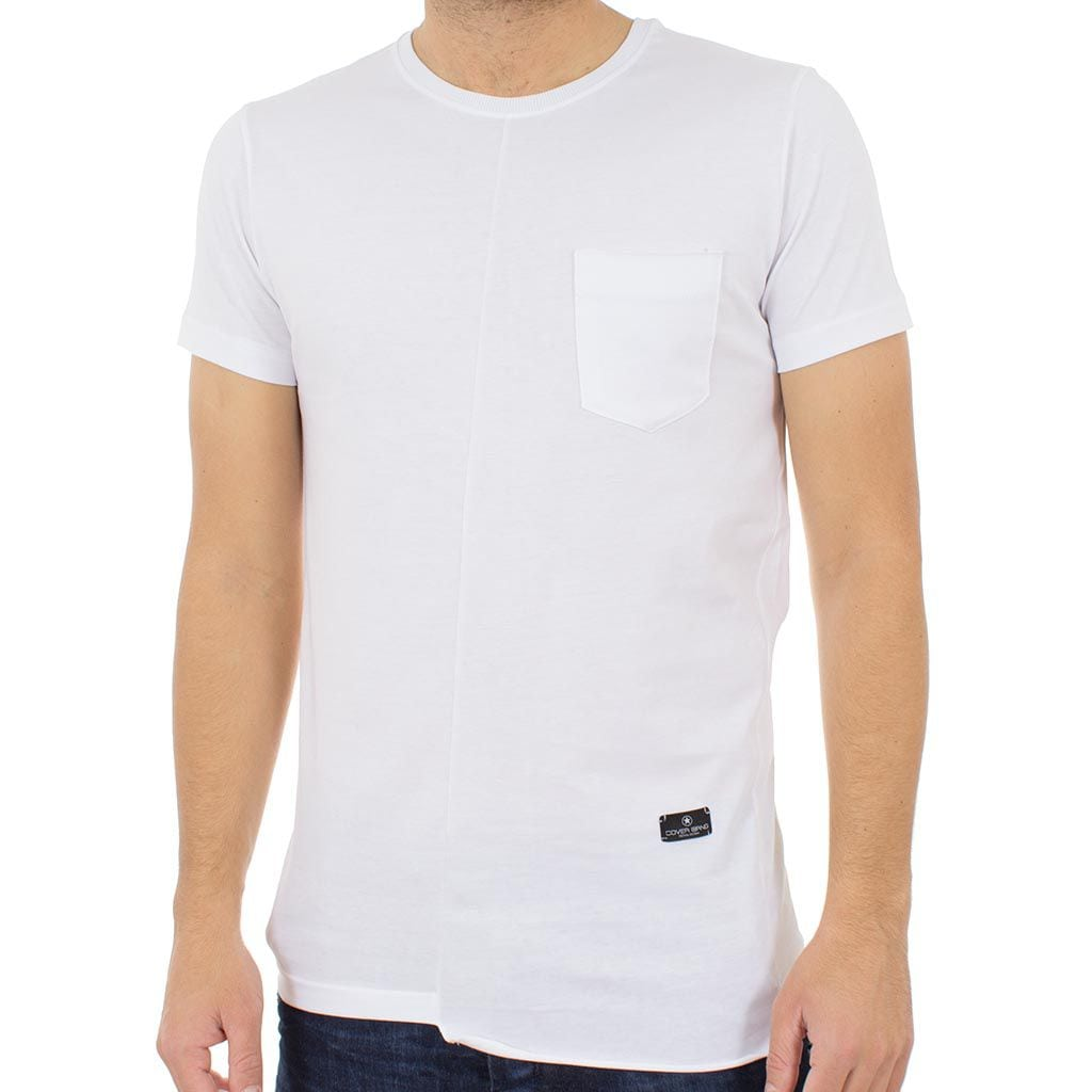 112321a6722f Κοντομάνικη Μπλούζα T-shirt COVER Jeans TWIST 0207 Λευκό